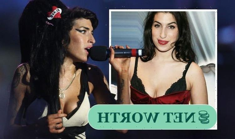 Amy Winehouses life in pictures: Singing sensation had huge success before tragic death