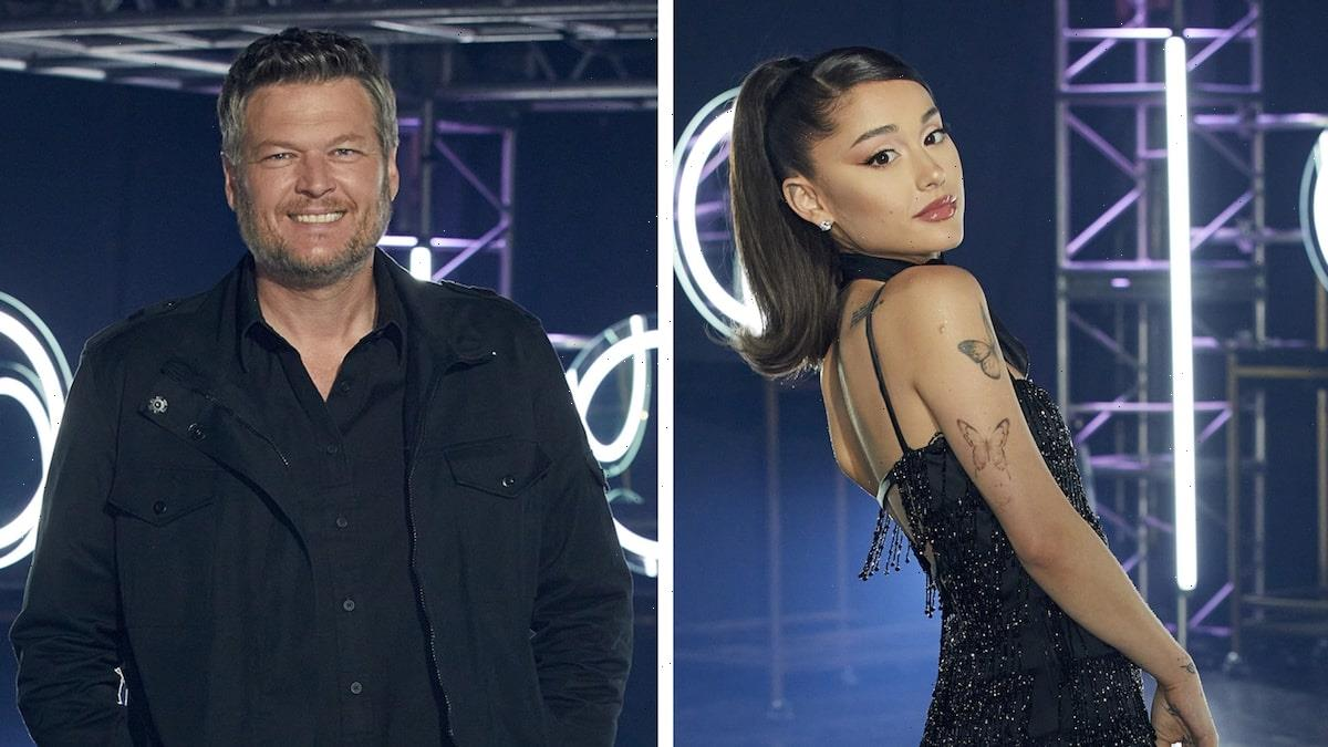 Ariana Grande Shares Blake Shelton's Sassy Text Amid Rumors He is Being Kicked Off The Voice
