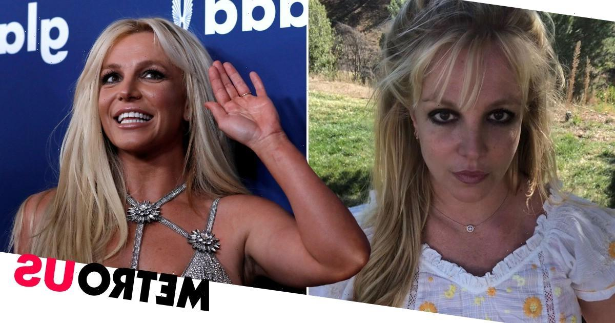 Britney Spears returns to Instagram as she 'couldn't stay away'