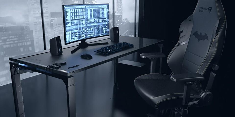Build Your Own Gaming Bat Cave With Secretlab Magnus Dark Knight Edition
