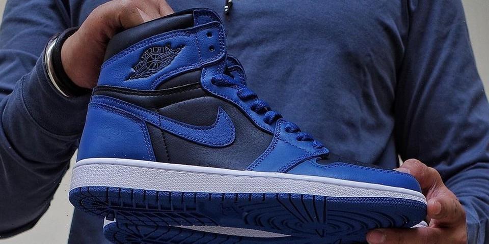 """Closer Look at the Air Jordan 1 """"Dark Marina Blue"""""""