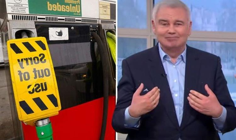Eamonn Holmes snaps back at stupid cow as hes accused of petrol shortage scaremongering