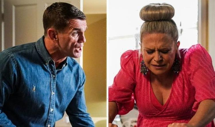 EastEnders Linda Carter suffers labour complications after being confronted by Jack?