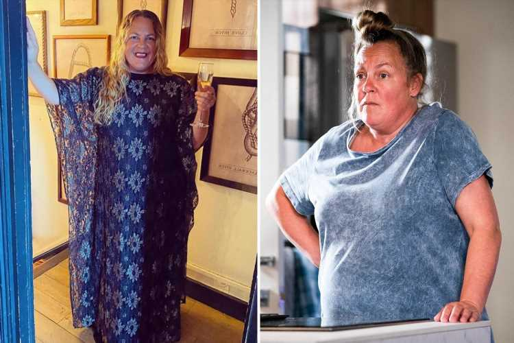 EastEnders Lorraine Stanley looks NOTHING like Karen Taylor as she glams up for NTAs