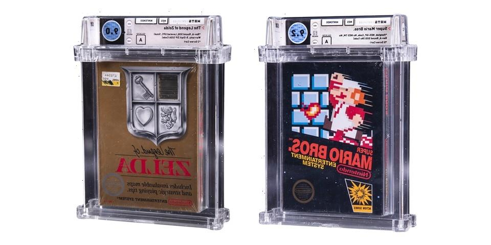 Goldin Auctions Lists Rare NES 'The Legend of Zelda' and 'Super Mario Bros.' Sealed Game Cartridges