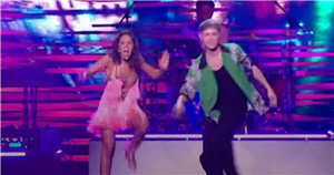 HRVY reunites with Strictly partner Janette Manrara to open NTAs with energetic performance