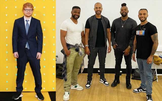 JLS Star Recalls Having Goosebumps When Recording Ed Sheeran-Written Song