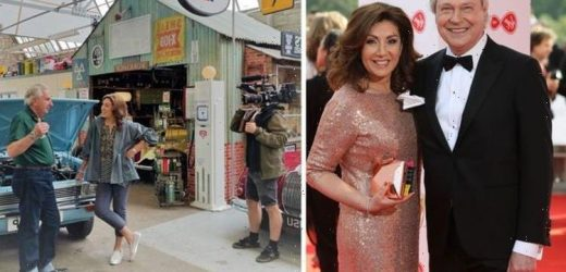 Jane McDonald returns to filming six months after partner Eddie Rothes tragic death at 67