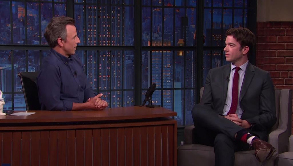 John Mulaney Thanks Seth Meyers For Intervention In First Post-Rehab Interview