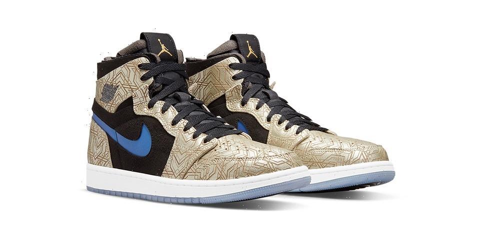 """Jordan Brand Officially Unveils the Air Jordan 1 High Zoom CMFT """"Gold Laser"""""""