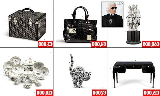 Karl Lagerfeld's contents are up for auction