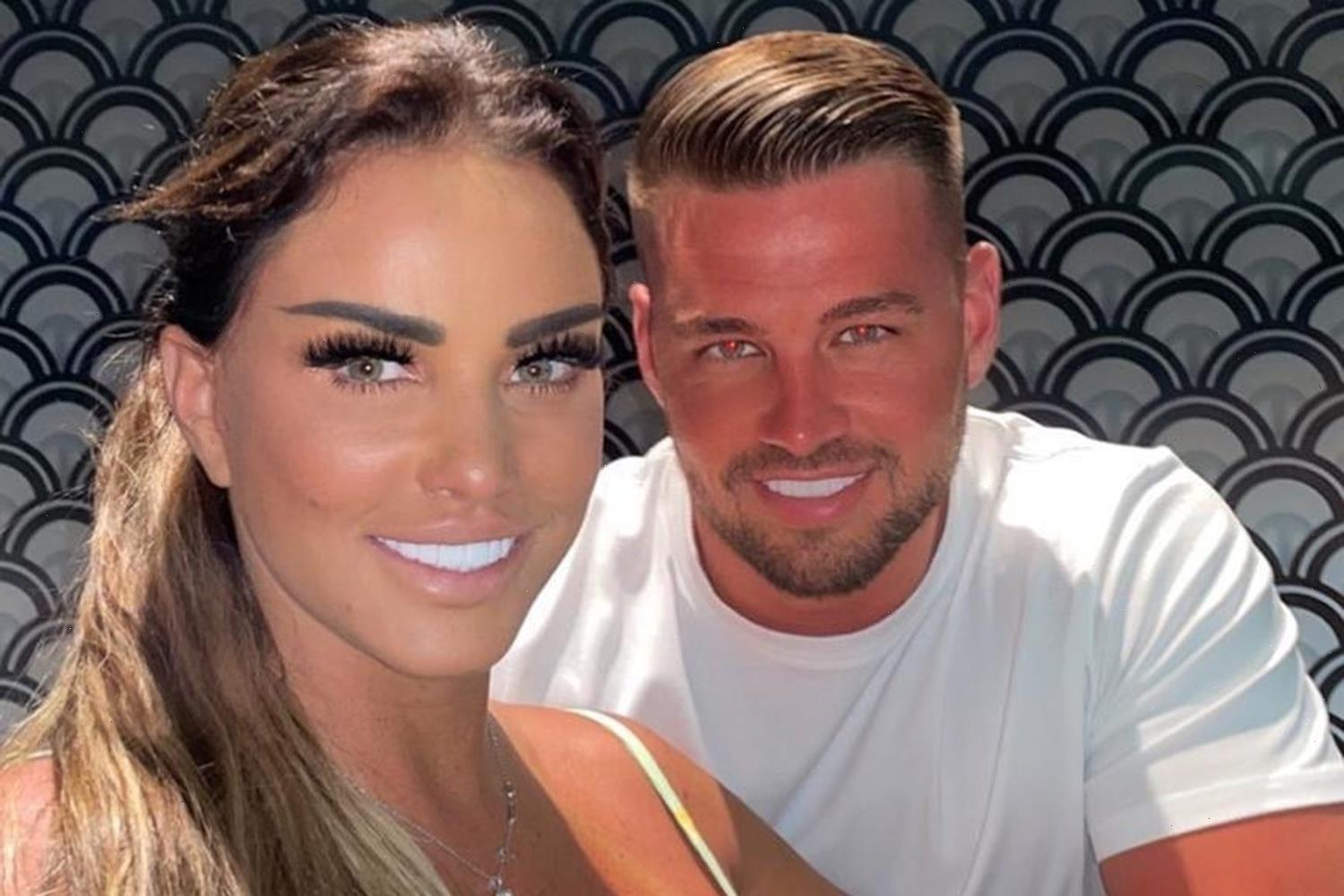 Katie Price's fiance Carl Woods gives fans a closer look at HUGE tattoo of her face – and it looks exactly like her