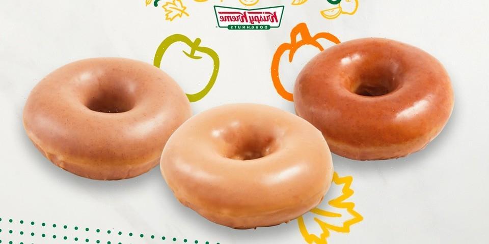 Krispy Kreme Unveils Fall-Inspired Pumpkin Spice, Apple Cider and Maple Glazed Doughnuts