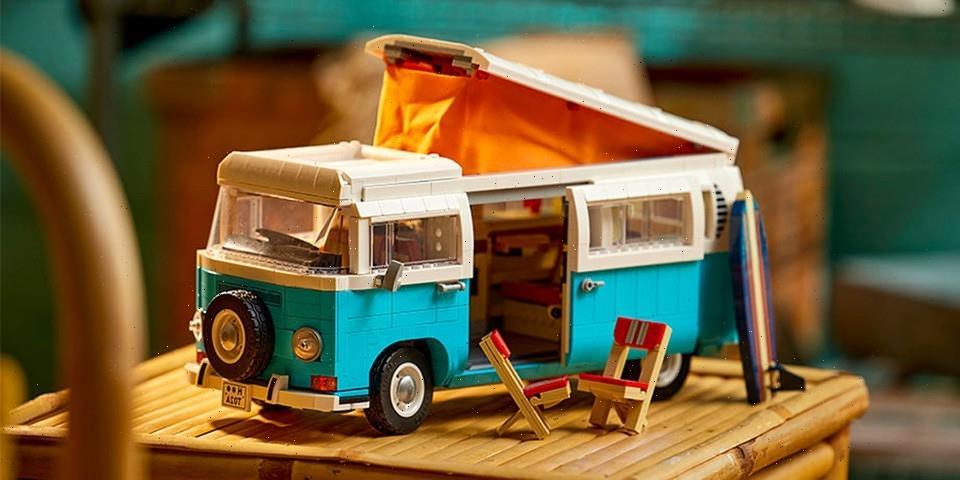 LEGO Creates the Ultimate Kit for Volkswagen Camper Van Fans