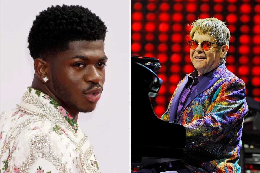 Lil Nas X to Appear on Elton John's New Album 'The Lockdown Sessions'