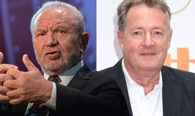 Lord Sugar speaks out after getting stick for post comparing Piers Morgan to elephant