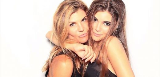 Lori Loughlins Daughter Olivia Jade Sparks DWTS Rumors as Shes Spotted on Set of the Show