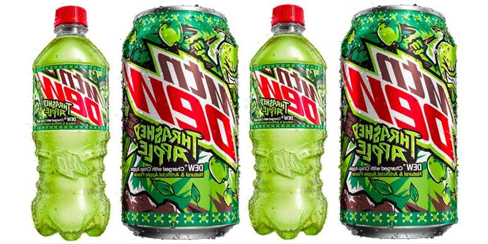 MTN DEW Launches Into Fall With New Crisp Thrashed Apple Flavor