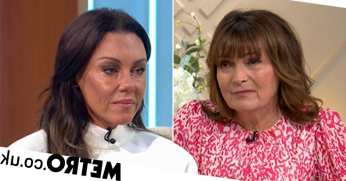 Michelle Heaton apologises to Lorraine for drinking before past appearance