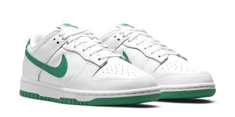 Nike Reveals Understated Dunk Lows in White and Green