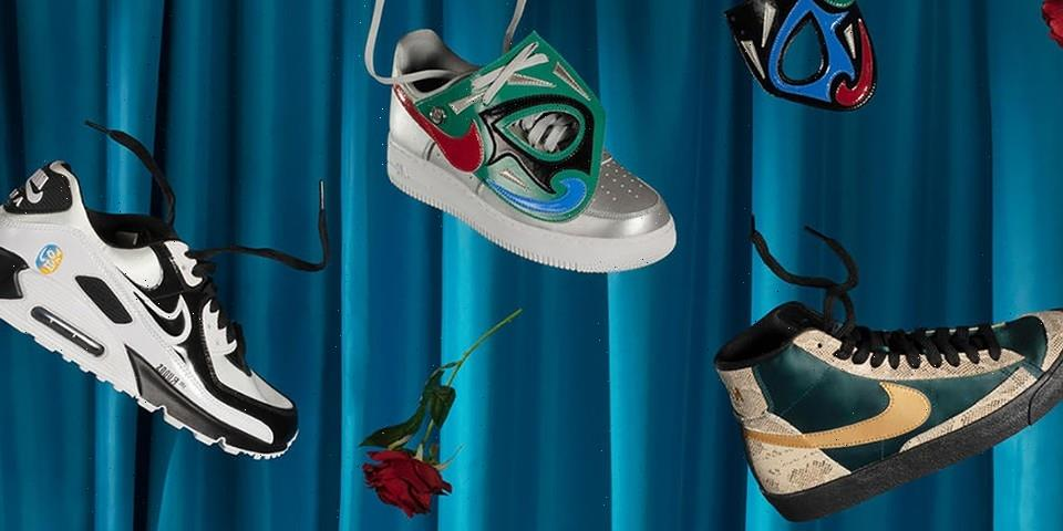 """Nike Salutes Wrestling Culture With Its Newest """"Lucha Libre"""" Collection"""