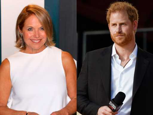 Prince Harry's New Gig With Katie Couric Might Get Awkward After These Comments from Her Book