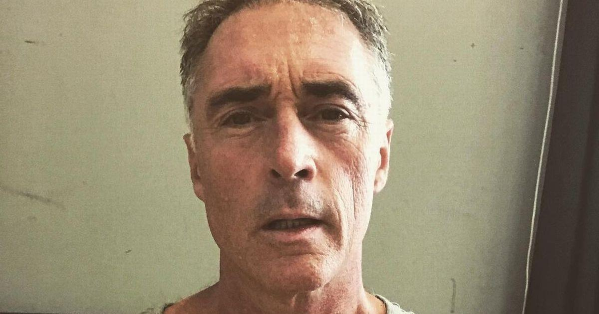 Strictlys Greg Wise works up a sweat rehearsing and gets through three t-shirts