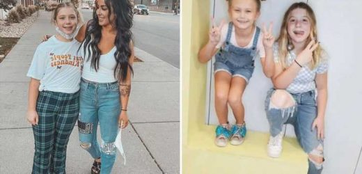 Teen Mom star Chelsea Houska reunites with Adam Lind's ex Taylor for sisters Aubree and Paislee's play date