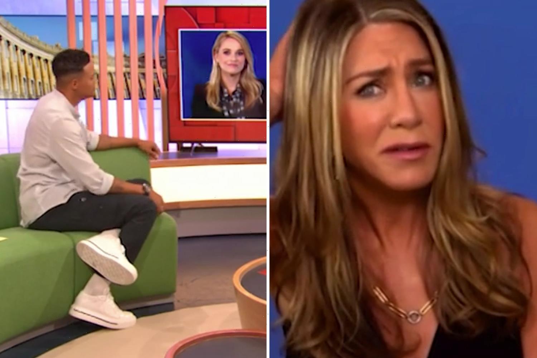 The One Show viewers left cringing over Jennifer Aniston's 'attitude' towards host Jermaine Jenas
