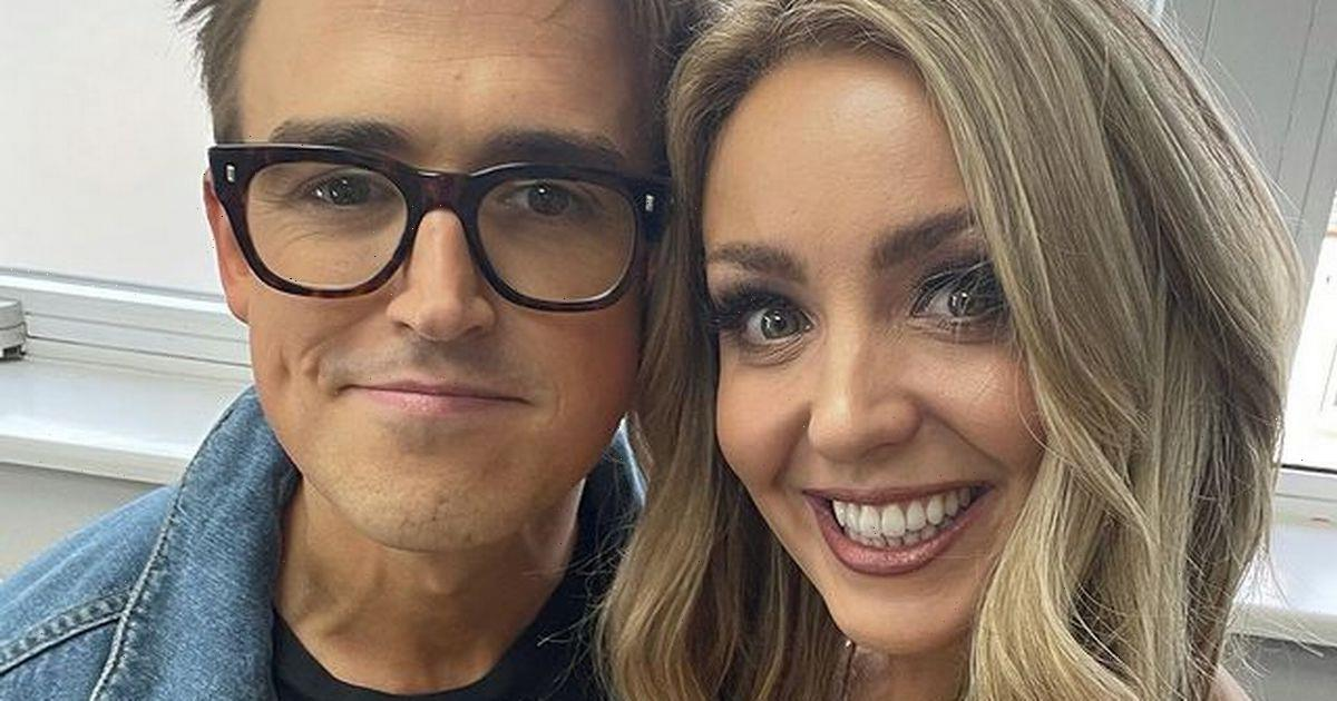 Tom Fletcher shares Strictly teaser as he dances with Amy Dowden at McFly gig