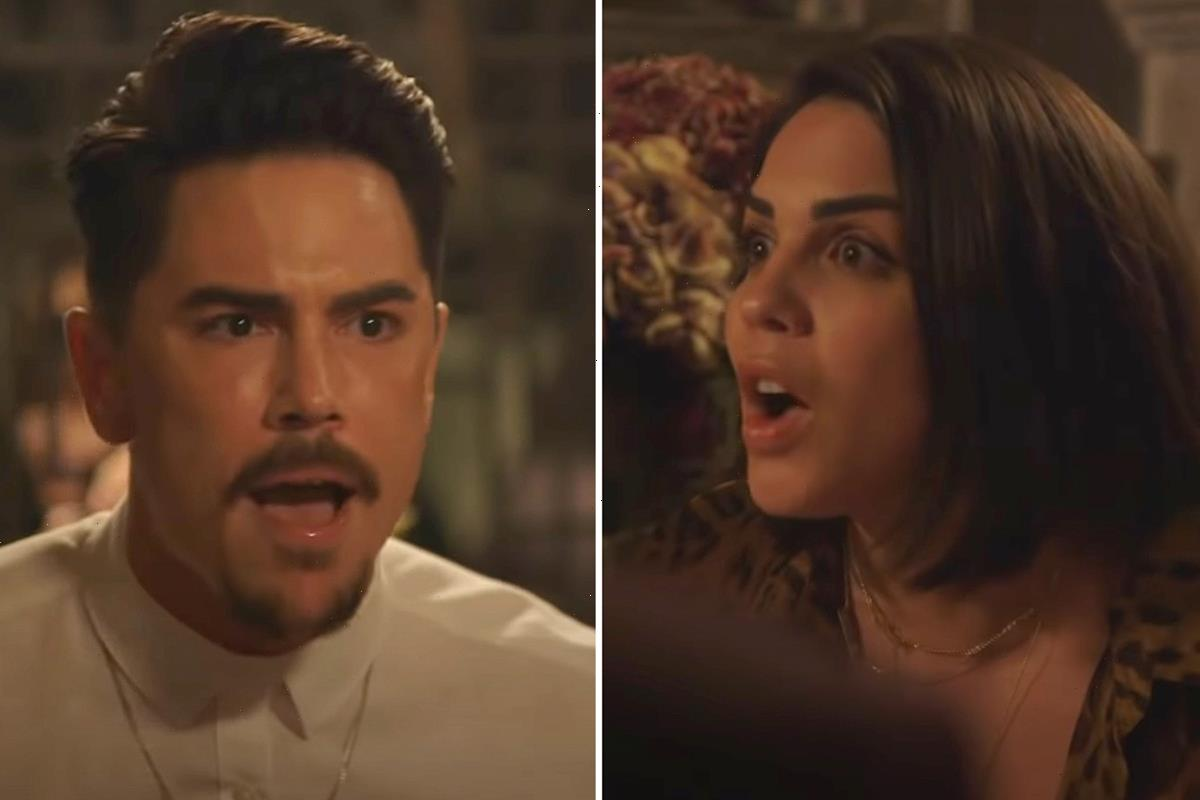 Vanderpump Rules trailer features Tom Sandoval screaming 'f**k you' at Katie Maloney & other nasty cast fights