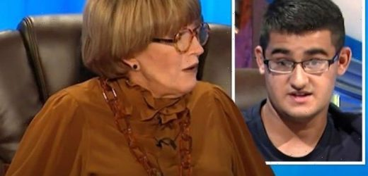 Youre too old Anne Robinson brutally shut down by Countdown contestant Met your match