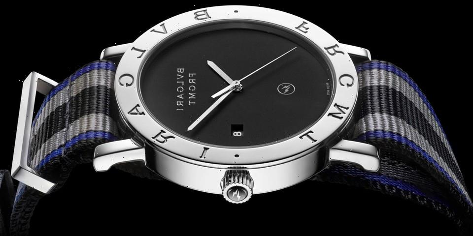 fragment and BVLGARI Partner Again on a Timeless New Roma Watch