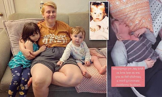 Abuse survivor reveals how giving birth triggered rare form of PTSD
