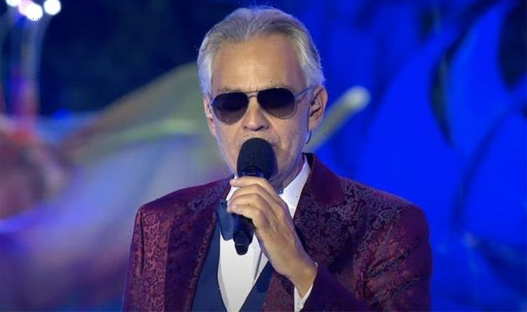 Andrea Bocelli gives goosebump-inducing performance of The Prayer in Dubai – WATCH