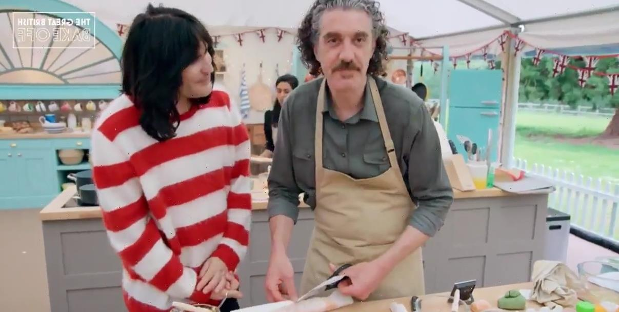 Bake Off fans mortified as contestant forgets Noel Fielding's name in awkward scenes