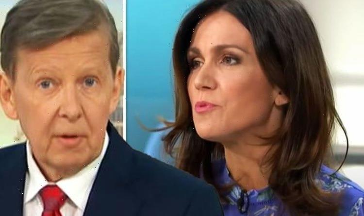 Bill Turnbull supported by co-star Susanna Reid after radio show exit for health reasons