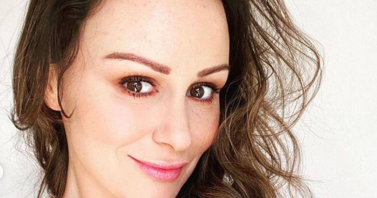 Chanelle Hayes says 8st weight loss journey has been a difficult road in before and after snap
