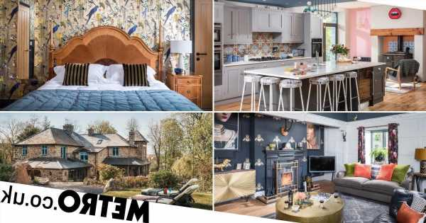 Couple transform old Welsh wool mill into a gorgeous four-bed holiday home
