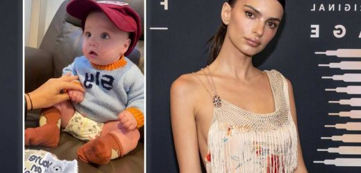 Emily Ratajkowski shares first photo of son Sylvester