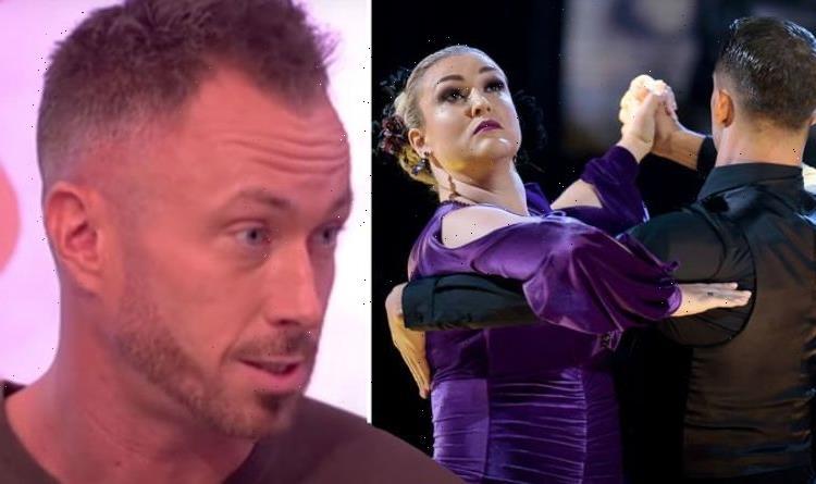 I was watching a different dance James Jordan slams scoring for average Sara Davies