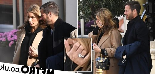 Jamie Redknapp and new wife Frida Andersson look loved-up after intimate wedding