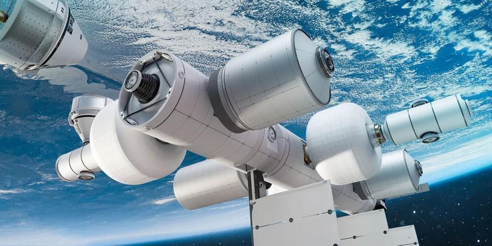 Jeff Bezos Unveils Plans for Future Blue Origin Commercial Space Station