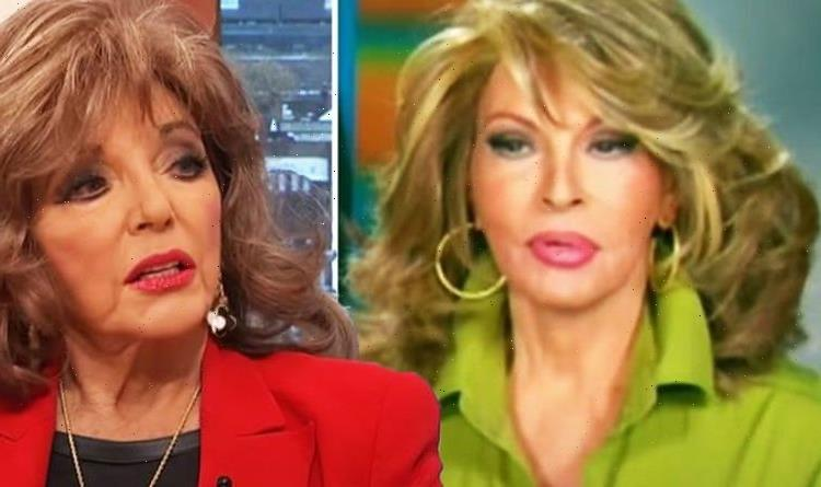 Joan Collins addresses awkward moment Raquel Welch asked for a part in OJ Simpson book
