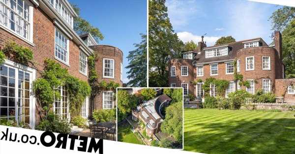 Mansion on one of London's most expensive streets goes on sale for £38million