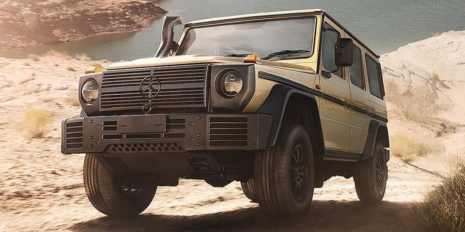 Mercedes-Benz Updates Its Military-Spec G-Wagen