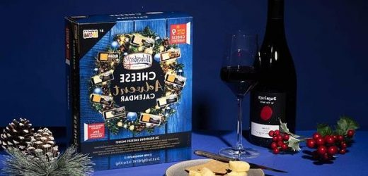 Original cheese advent calendar is back for 2021