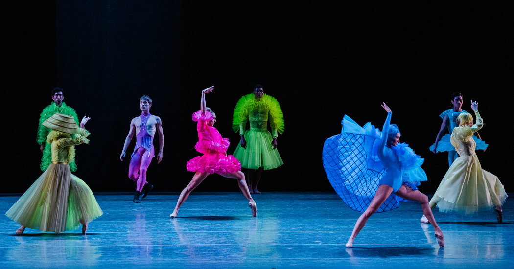 Review: The Costume Dramas of New York City Ballet
