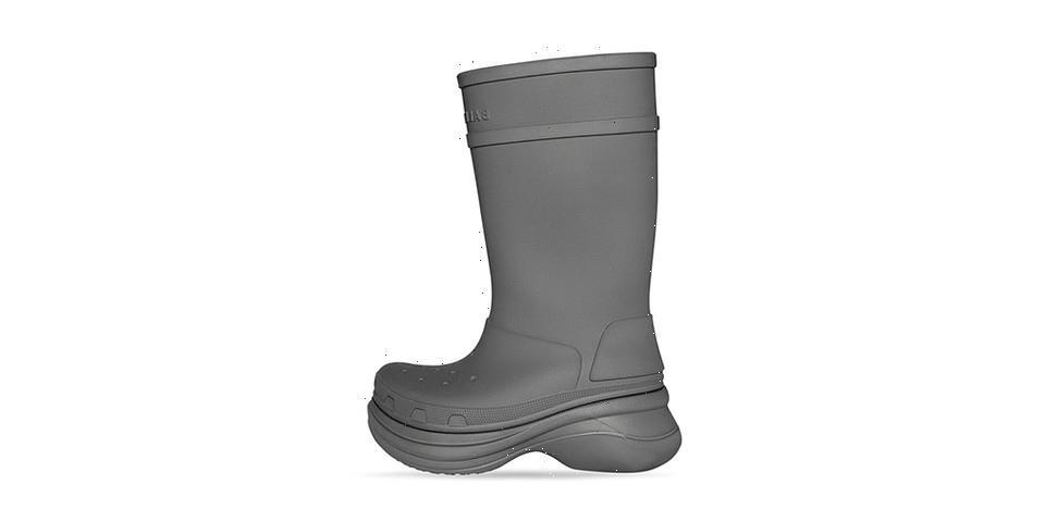 Stomp Through This Season With Balenciaga's Crocs Boot