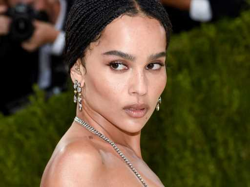 Zoë Kravitz Plans on Following Her Dad's Footsteps With a Potential New Album